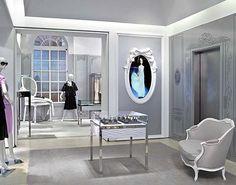Grey walls, white trim