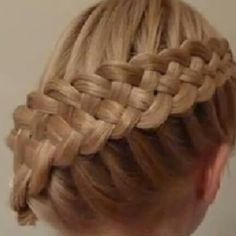 trenzas y peinados ( Pretty Hairstyles, Girl Hairstyles, Amazing Hairstyles, Creative Hairstyles, Braid Hairstyles, Braids With Weave, Weave Braid, Different Hairstyles, Hair Day