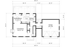 Colonial Style House Plan - 3 Beds 2.50 Baths 2112 Sq/Ft Plan #497-19