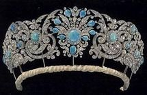 Teck Turquoise Tiara.  (British) owned by Duke and Dutchess of Glouchester.
