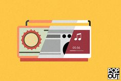 Illustration radio