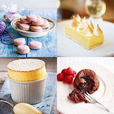 Wat oogt aanlokkelijker dan deetalage van een Franse pâtisserievol zoete heerlijkheden? DeFransen zitten niet alleen ruimin de wijn en kaas, ze hebben ookhonderden variaties op taartjesen gebakjes; met specialiteiten...