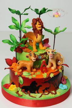 Lion king kuchen