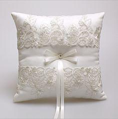 Elegant Lace Wedding Favors Gift Ring Box Pillow Cushion Wedding Decor - Wedding Look