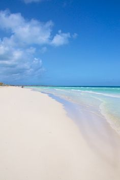 Cayo Santa Maria beach, Cuba.    Now I want a hammock some sunscreen and an ice cold pina-colada