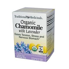 Traditional Medicinals 100% Chamomile Tea Wlavender (1x16 Bag)
