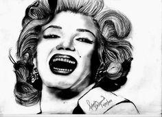 Sketch: Marilyn Monroe