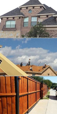 This contractor provides roofing services for residential and commercial clients. They have skilled handymen who also do siding and gutter repairs and installation jobs.