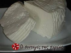 No Dairy Recipes, Coconut Recipes, Greek Recipes, Snack Recipes, Cooking Recipes, How To Make Cheese, Food To Make, Making Cheese, Greek Appetizers