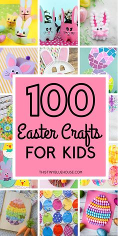 Are you looking for adorable Easter crafts for kids? Here is a collection of over 100 super fun Easter crafts that your kids will just love making. crafts projects Best Adorable Easter Crafts For Kids - This Tiny Blue House Easter Crafts For Toddlers, Easter Projects, Bunny Crafts, Easter Crafts For Kids, Toddler Crafts, Craft Projects, Craft Ideas, Easter Decor, Easter With Kids