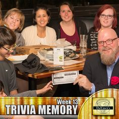 Roswell's 3rd Place winners.  join us Thursday's 7pm. http://davincisdelivers.com/trivia-signup/