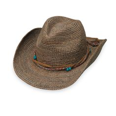 9e3282321e4 Catalina Cowboy by Wallaroo. Sun Protection HatSummer Hats For WomenCowboy  ...