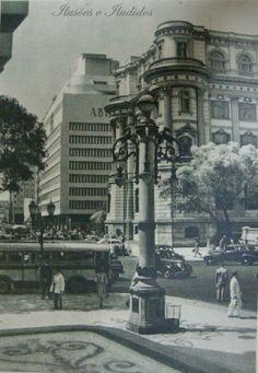 Av. Rio Branco - década 40 - Rio de Janeiro