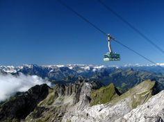 Rising towards sky. - Santis, Switzerland