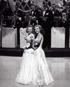 June Allyson Gloria De Haven in Two Girls Are A Sailor #JuneAllyson #GloriaDeHaven #TwoGirlsAndASailor