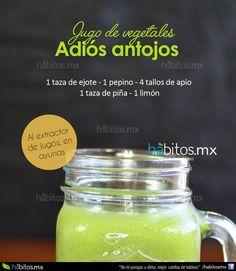 Hábitos Health Coaching   Jugo de Vegetales ADIÓS ANTOJOS