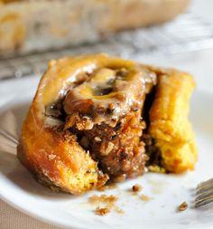 Recipe: No-Knead Pumpkin Rolls with Brown Sugar Glaze — Recipes from The Kitchn
