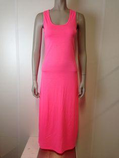 Maxi dress fel roze | Jurken / Rokken | ladies fashion yess-style