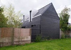 Clément Bacle's House Between the Two extension mirrors original house