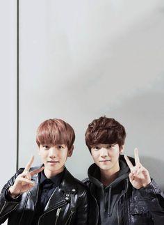 Baek and Luhan