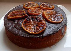 Pastís de naranja y chocolate