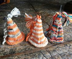 Knitted ornaments hat ornaments Xmas ornaments Christmas