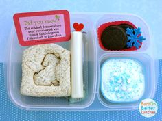 Quick and easy lunch box idea | packed in @EasyLunchboxes