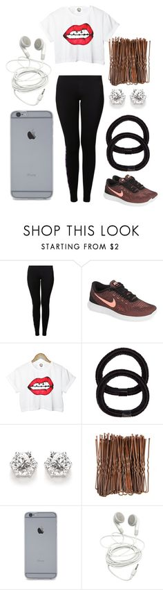 """an ""eh"" ootd"" by maya-joy-hart ❤ liked on Polyvore featuring NIKE, Retrò and John Lewis"