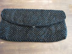 Beaded Clutch, Vintage Black, Continental Wallet, Trending Outfits, Unique Jewelry, Handmade Gifts, Etsy, Fashion, Kid Craft Gifts