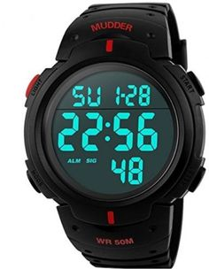 mudder 5atm #waterproof #digital #sports military multifunctional dive wrist wat,  View more on the LINK: 	http://www.zeppy.io/product/gb/2/182219004894/