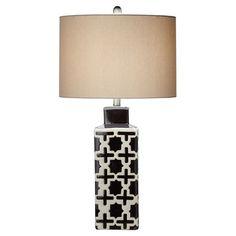 Thelma Table Lamp in Black at Joss & Main