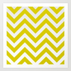 My mustard grey chevron design available now on Society 6