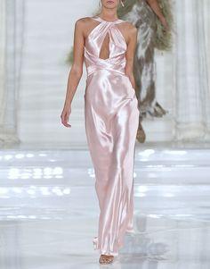 Ralph Lauren SS 12 Great dress, hideous confectionary pink color.