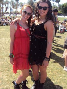 Bold & Black Hues <3 <3 Coachella 2013