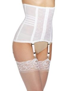 Rago Shapewear Waist Cincher Girdle with removable suspenders Style 21 (XXL, White)') Rago. $34.20