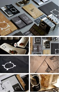 Cooking with tea #identity #packaging #branding #marketing PD