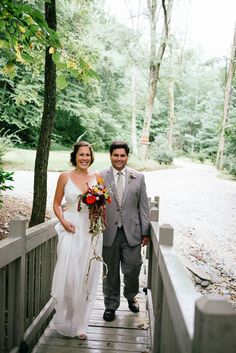 rustic outdoor wedding north carolina - Andrews, NC