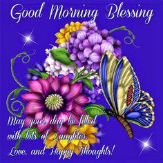 Good Morning Blessing,