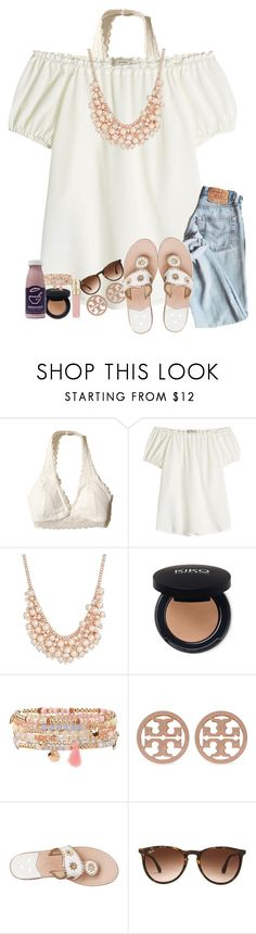"""""""TBH i'm scared to be lonely"""" by amaya-leigh ❤ liked on Polyvore featuring Hollister Co., Etro, Charter Club, Accessorize, Tory Burch, Jack Rogers, Ray-Ban and Smith & Cult"""