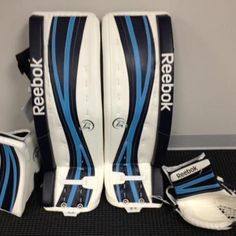 Sick Custom Set of Reebok Goalie Pads