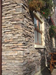 Many photos of Bucks County - Southern Ledgestone - Cultured Stone Real Stone Veneer, Stone Veneer Siding, Stone Cladding, Farmhouse Addition, Bungalow Renovation, Manufactured Stone, House Siding, Exterior Remodel, Mountain Homes
