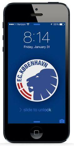 Free iPhone Wallpaper Download #copenhagen #soccer