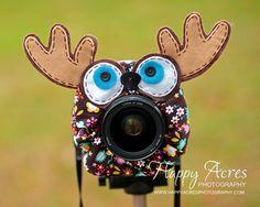 Lens Bling Brown Moose by HappyAcresFarm on Etsy, $22.00