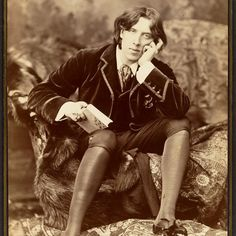 In honor of Pride Month view this portrait of Oscar Wilde, photographed when he was 27. Wilde was persecuted for his sexual orientation and after three trials was convicted and imprisoned for two years for his relationship with Lord Alfred Douglas. Napoleon Sarony (American (born Canada), 1821–1896). Oscar Wilde, 1882. #metmuseum #OscarWilde #PrideMonth #LGBT #LGBTQ