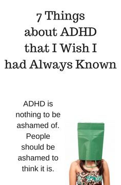 Stop feeling guilty. It's not you, it's ADHD.
