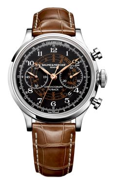 Capeland 10068 automatic chronograph watch for men - Baume et Mercier
