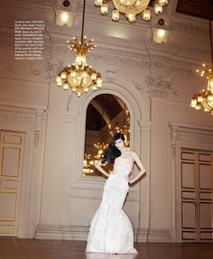 Best of Couture Dior Haute couture gown US Harpers Bazaar May 2013 ...