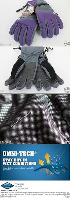 Gloves and Mittens 105559: New Womens Columbia Whirlibird Omni-Heat Waterproof Ski Winter Snow Glove -> BUY IT NOW ONLY: $37.95 on eBay!