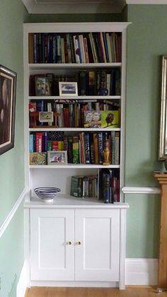 Alcove Bookcases, Alcove Shelving, Fitted Alcove Furniture | Caligari Cabinets