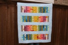 Colored Pencils Quilt by QuiltsByEmily on Etsy